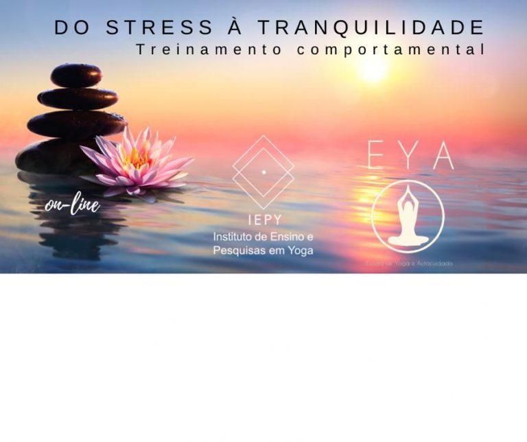 Curso: Do Estress a Tranquilidade